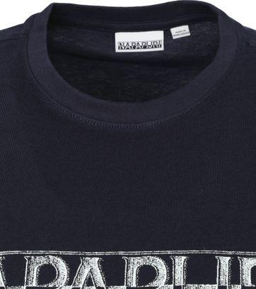 Napapijri Sallar T Shirt Navy
