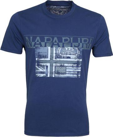Napapijri Sawy T-shirt Indigo