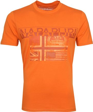Napapijri Sawy T-shirt Orange