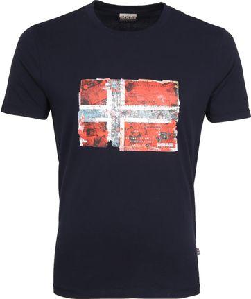 Napapijri Seitem T-shirt Navy