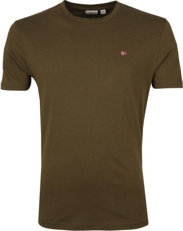 Napapijri Selios T-shirt Dark Green