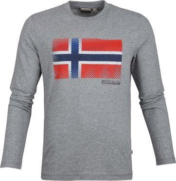Napapijri Sibu T-Shirt Grau