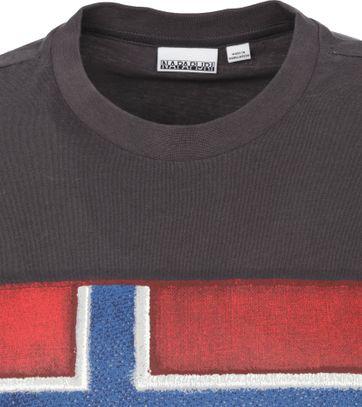 Napapijri Sirol T Shirt Anthracite