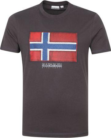 Napapijri Sirol T-shirt Antraciet