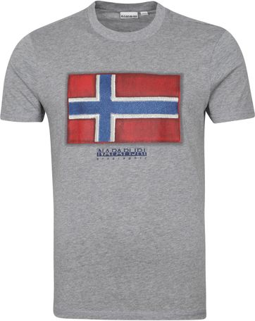 Napapijri Sirol T-shirt Grau