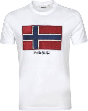 Napapijri Sirol T Shirt White