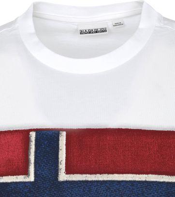 Napapijri Sirol T-shirt Wit