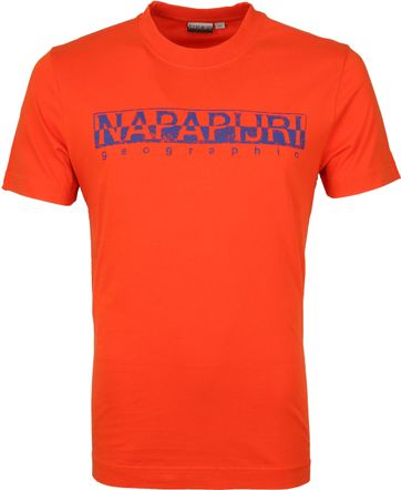 Napapijri Solanos T-shirt Oranje