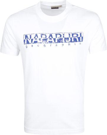 Napapijri Solanos T-shirt Weiß