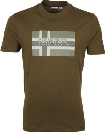 Napapijri Sovico T-shirt Dark Green