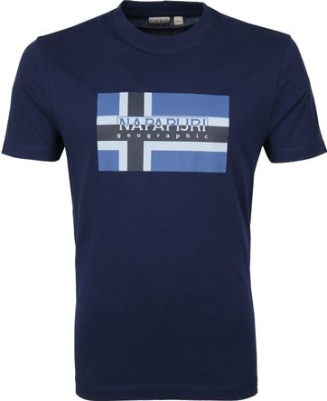 Napapijri Sovico T-shirt Dunkelblau