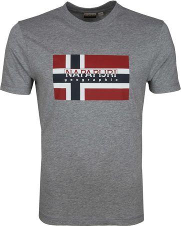Napapijri Sovico T-Shirt Grau