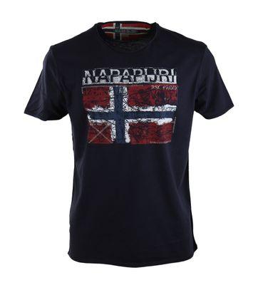 Napapijri Surl T-Shirt Dunkelblau