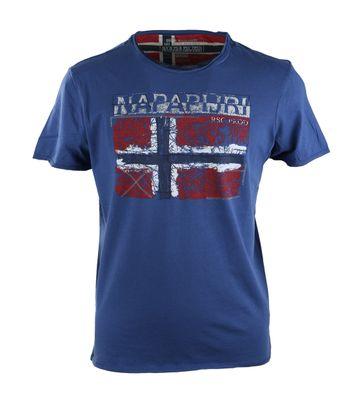 Napapijri Surl Tshirt Blauw