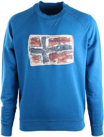 Napapijri Sweater Babos Blauw