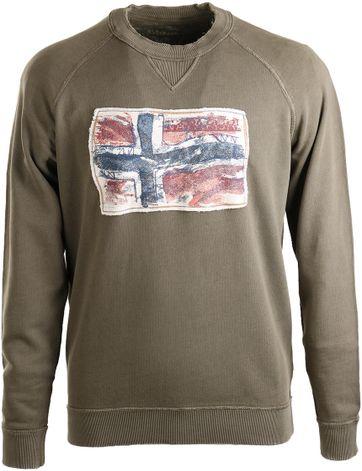 Napapijri Sweater Babos Groen