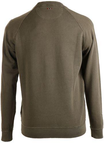 Detail Napapijri Sweater Babos Groen