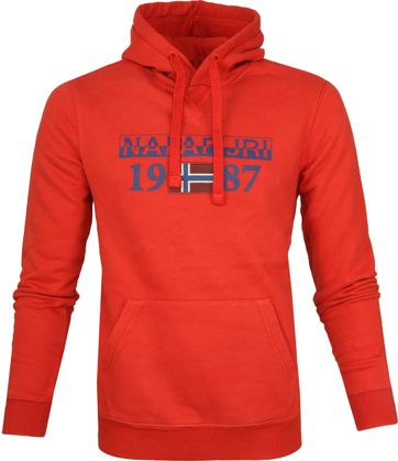 Napapijri Sweater Berthow Dunkelorange