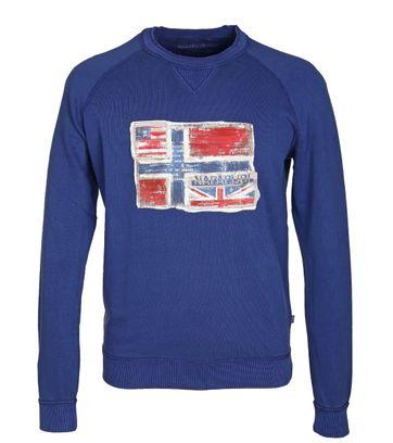Napapijri Sweater Blauw