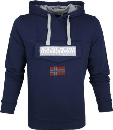 Napapijri Sweater Burgee Dark Blue