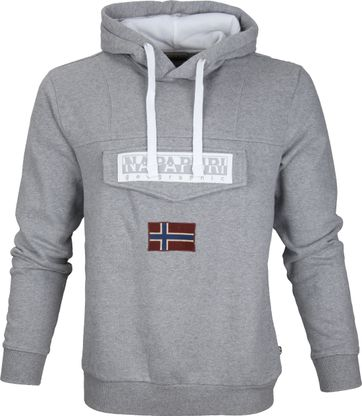 Napapijri Sweater Burgee Grey