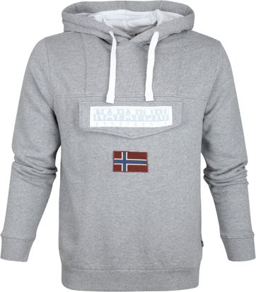 Napapijri Sweater Burgee Grey Logo
