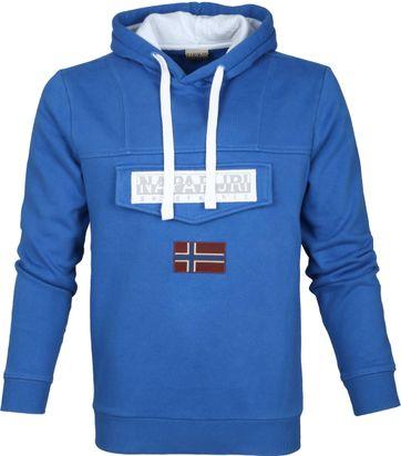 Napapijri Sweater Burgee Kobalt Blauw