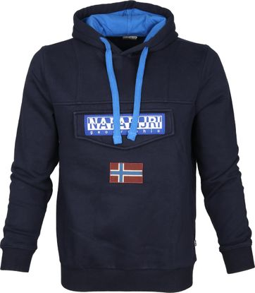Napapijri Sweater Burgee Navy