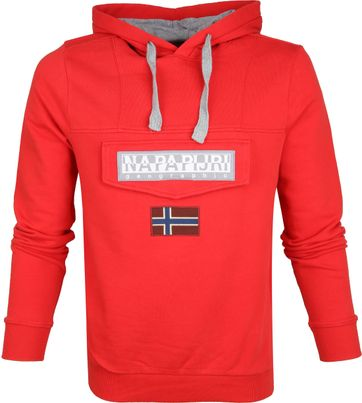 Napapijri Sweater Burgee Red