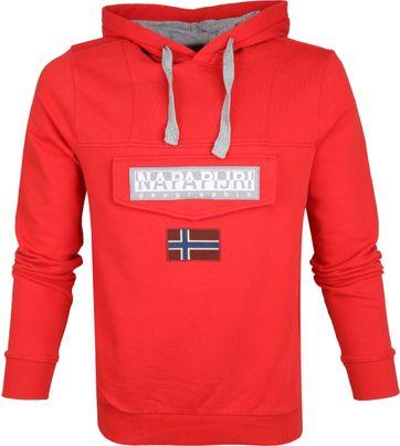 Napapijri Sweater Burgee Red