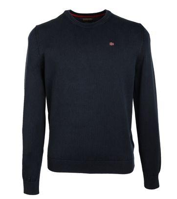 Napapijri Sweater Donkerblauw
