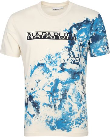 Napapijri Sylli T Shirt Off-White