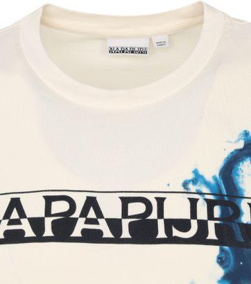Napapijri Sylli T Shirt Off-White