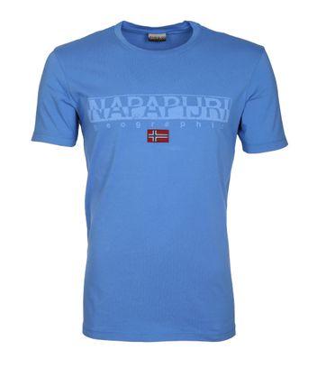 Napapijri T-shirt Sapriol Blauw