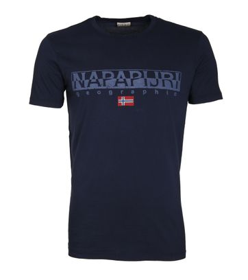 Napapijri T-shirt Sapriol Dunkelblau