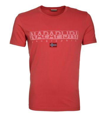 Napapijri T-shirt Sapriol Rood