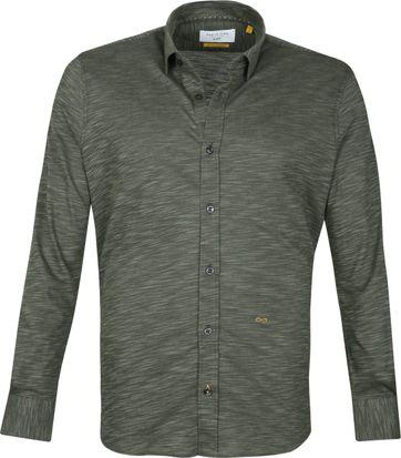 New In Town Casual Shirt Dark Green