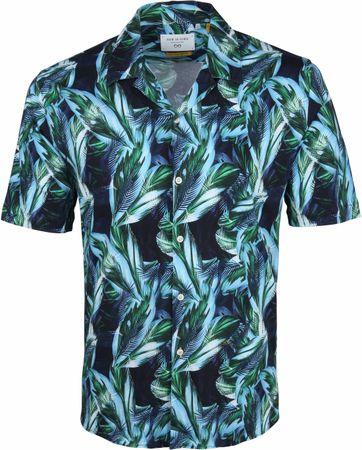 New In Town Overhemd Bladeren