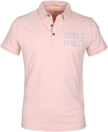 New In Town Polo Seriously Pink
