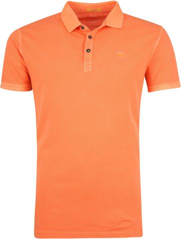 New In Town Polo Shirt Orange