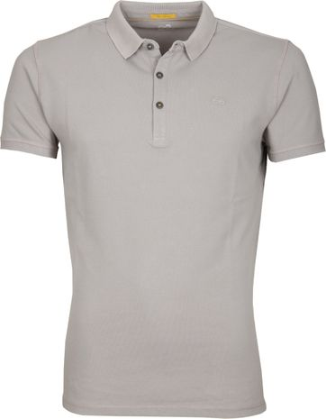 New In Town Polo Shirt Uni Grey