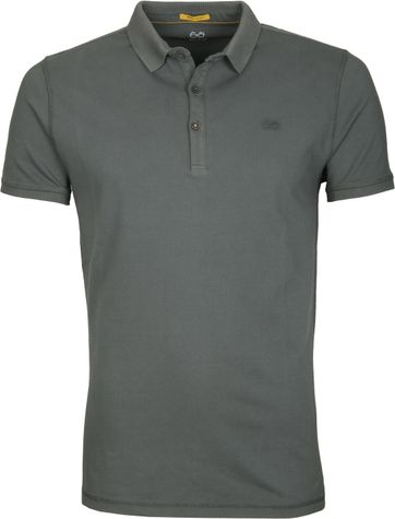 New In Town Polo Uni Groen