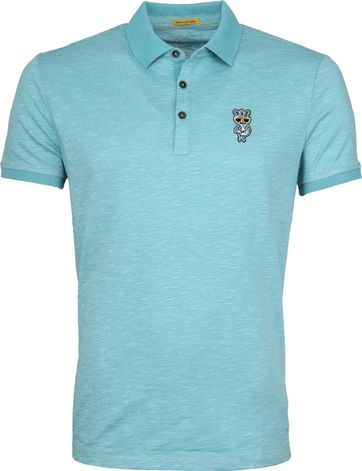New In Town Poloshirt Colorado Blue