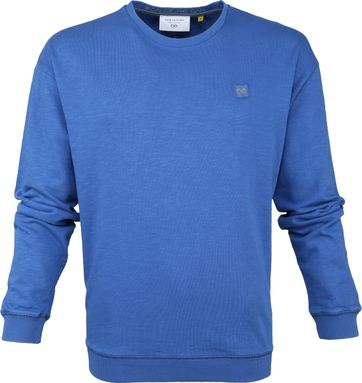 New In Town Pullover Blau