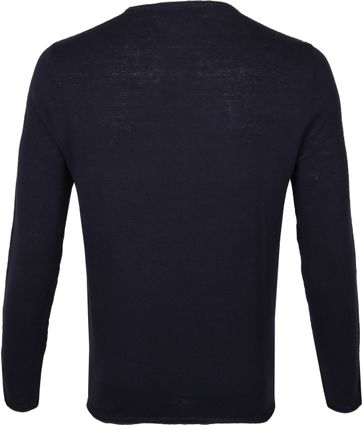 New In Town Pullover Dark Blue