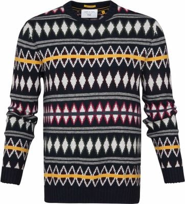 New In Town Pullover Multicolour Dessin