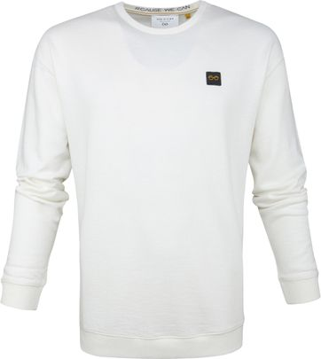New In Town Pullover White