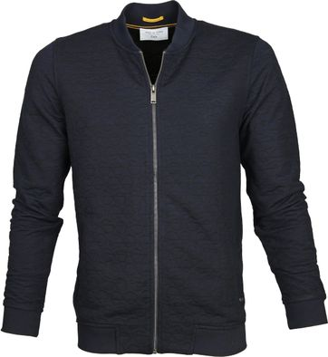 New In Town Sweat Jacket Navy