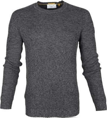 New In Town Sweater Antraciet