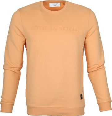 New In Town Sweater Oranje